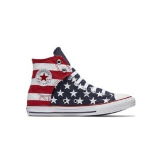 """EUC Converse """"America"""" Sneakers - Toddler's Size 8"""